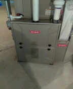 Novi, MI - Installed a 96% efficient Bryant furnace and a 4-ton Bryant air conditioner