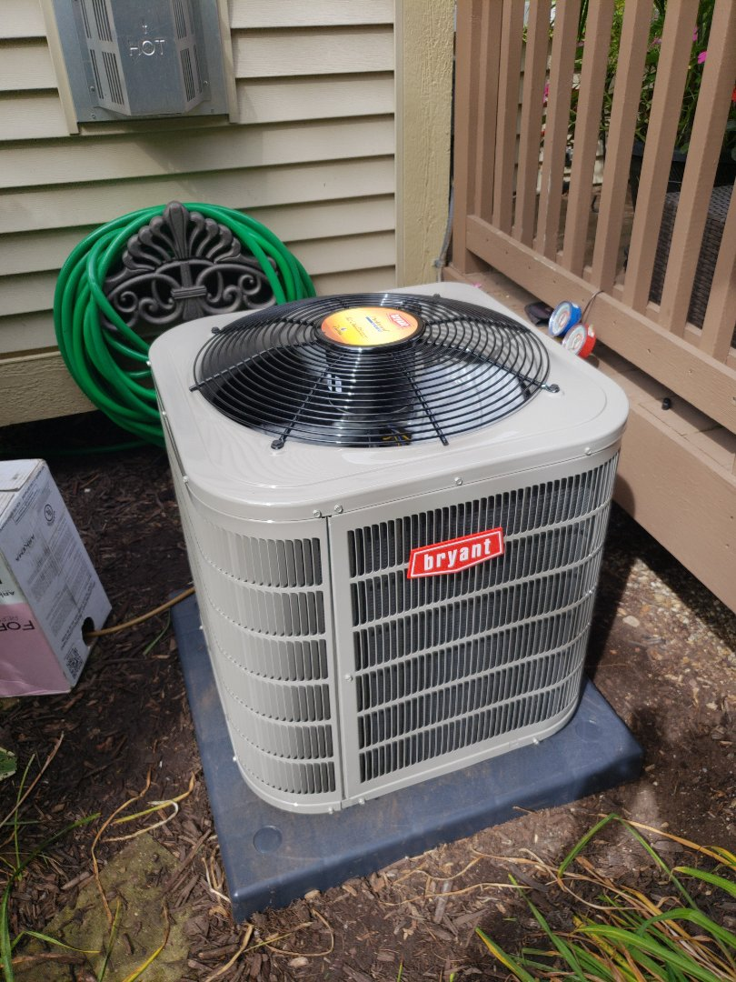 White Lake charter Township, MI - Finished with an air conditioner replacement