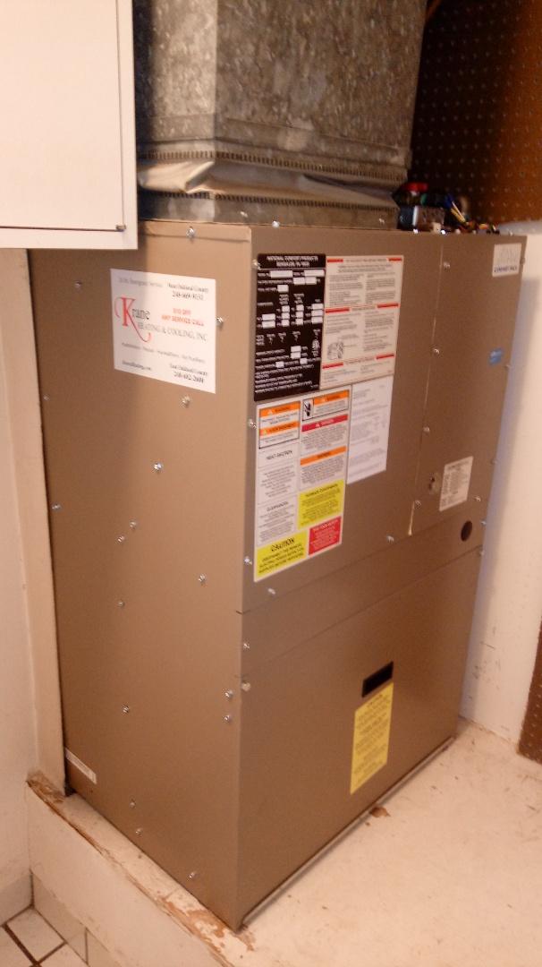 Bloomfield Hills, MI - Installed an hwc unit