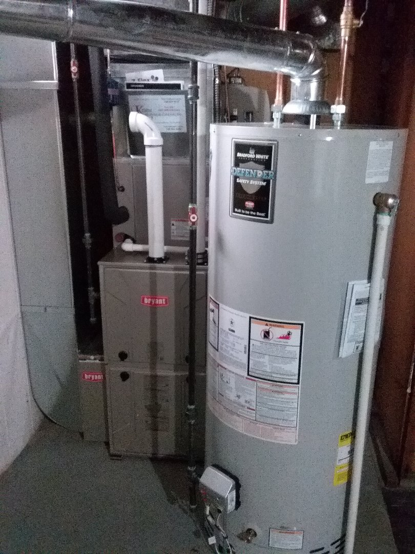 Birmingham, MI - Furnace, air conditioner, and water heater