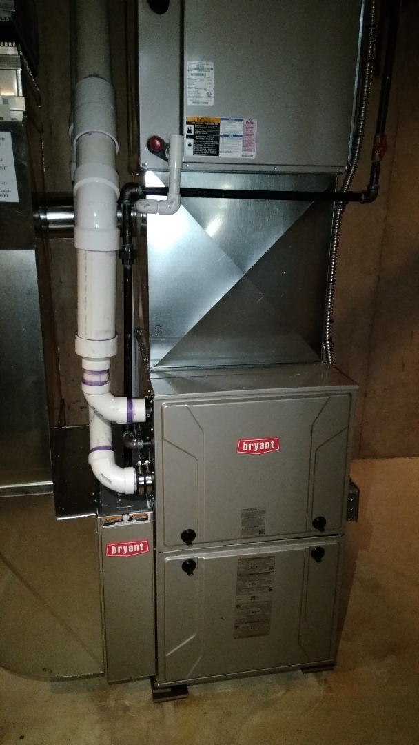 Commerce Charter Township, MI -  installed a Bryant furnace