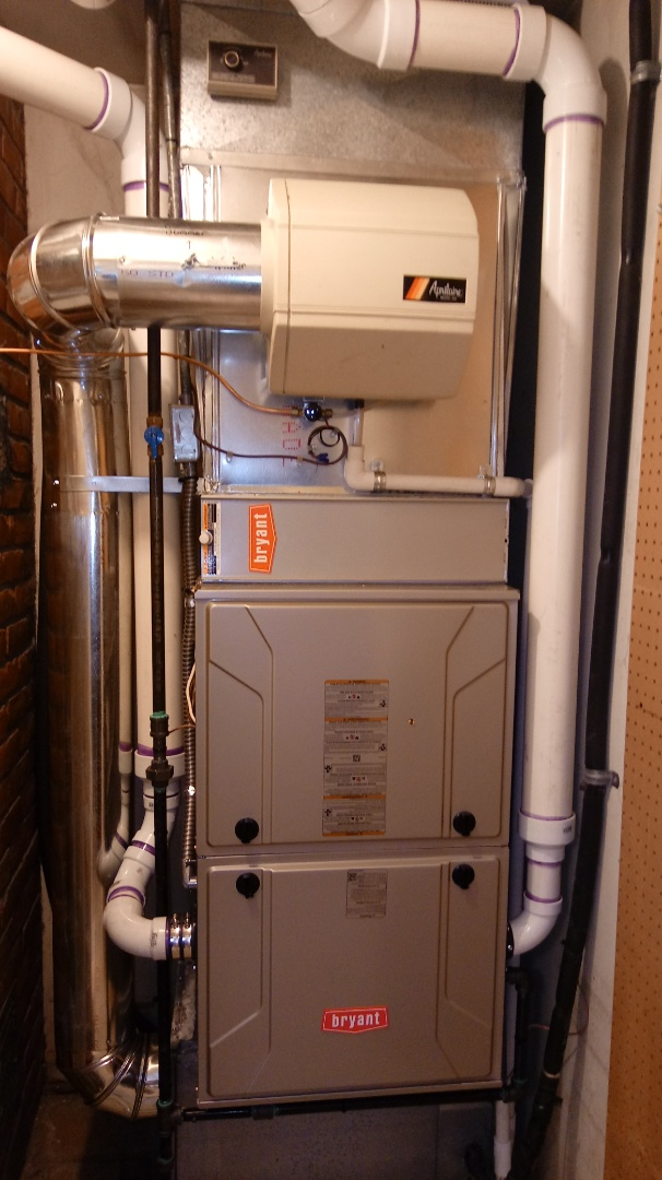 Bloomfield Hills, MI - Installed a Bryant 96% efficient furnace