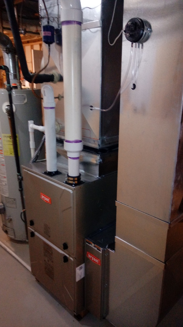 Clarkston, MI - Installed a Bryant 96% efficient furnace