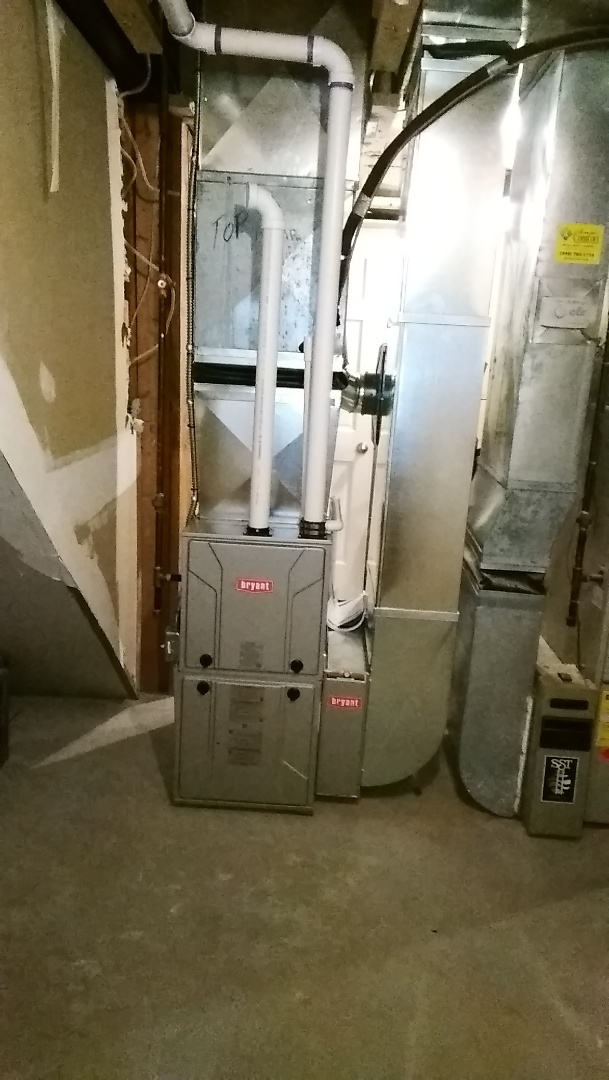Farmington Hills, MI - Install they 96% efficient Bryant furnace