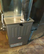 Orchard Lake Village, MI - Installed a 80% efficient Payne furnace
