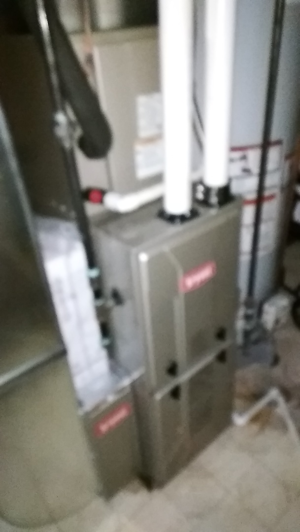 Waterford Township, MI - Install the 60,000 BTU Bryant furnace 90%