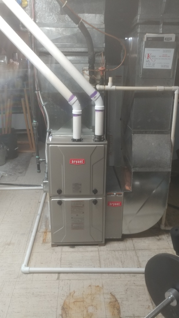 Bloomfield Hills, MI - Installed a 96% Bryant furnace