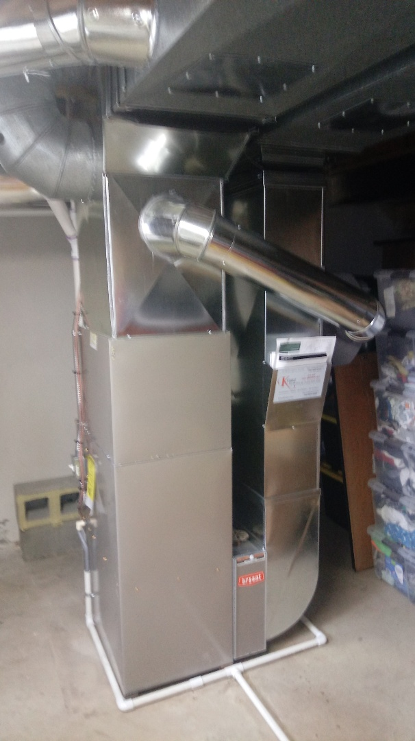 West Bloomfield Township, MI - Installed a Bryant 96% efficient furnace