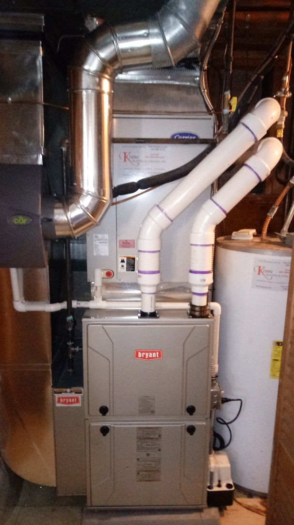 Rochester Hills, MI - Installed a Bryant 98% efficient furnace