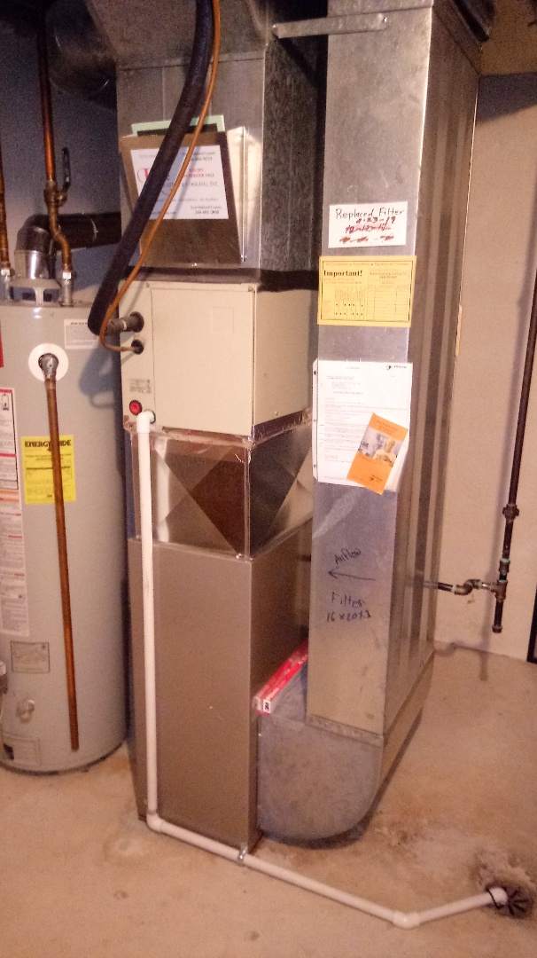 Walled Lake, MI - Installed a Payne 80% efficient furnace