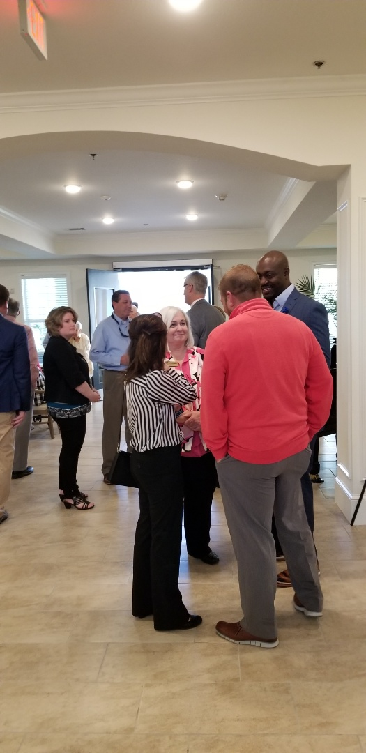 We celebrated with all the wonderful people at The Blake their ribbon cutting. A very nice community for seniors.