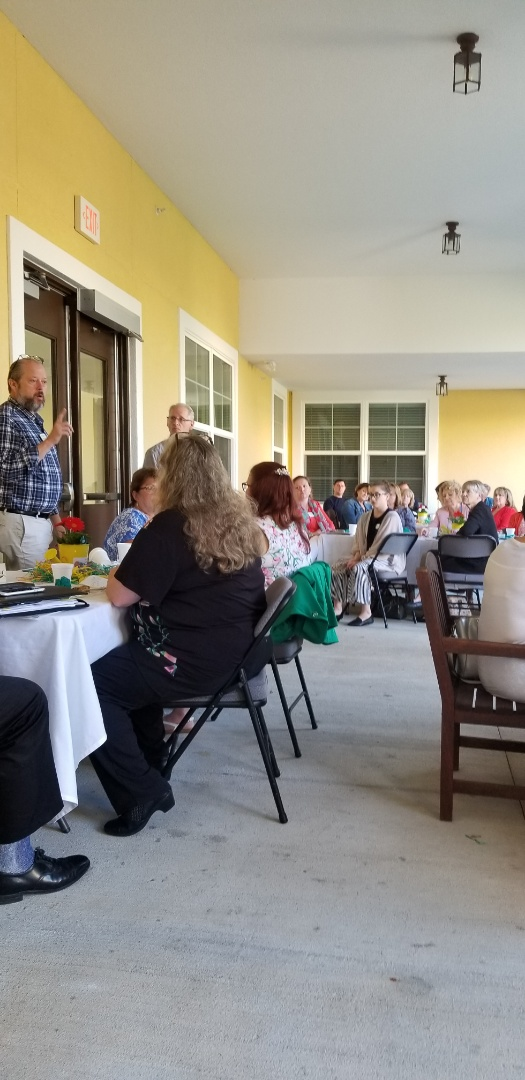 The Beacon at Gulf Breeze hosted a wonderful breakfast  and Rotary speakers for the Healthcare Professionals of Northwest meeting. A great organization that gives back to the community