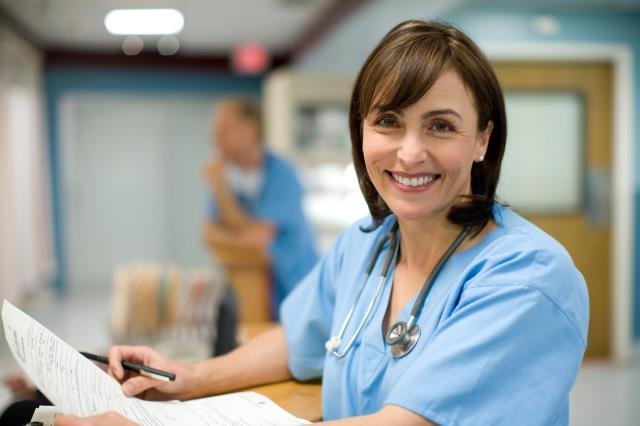 You pay a set hourly fee for the service you need, we pay the nurse.
