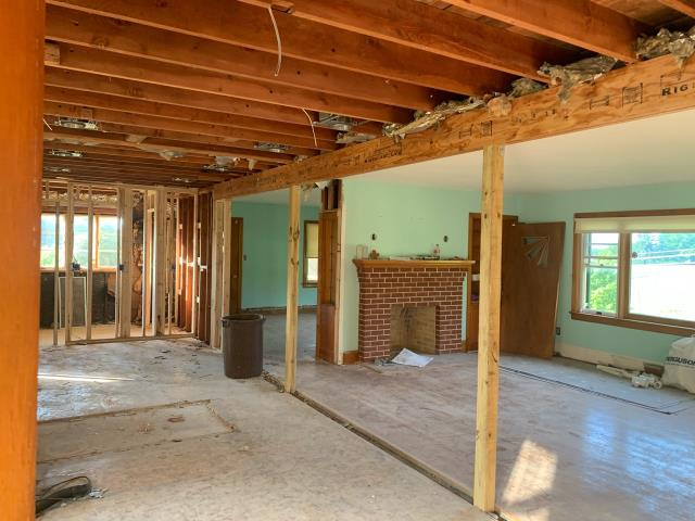 Sykesville, MD - Demo Phase of an Interior Remodel to Create an Open Floor Plan