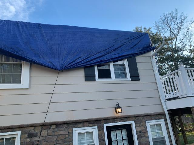 Edgewater, MD - Roof Demo/Waterproofing to Create a Second Story Addition