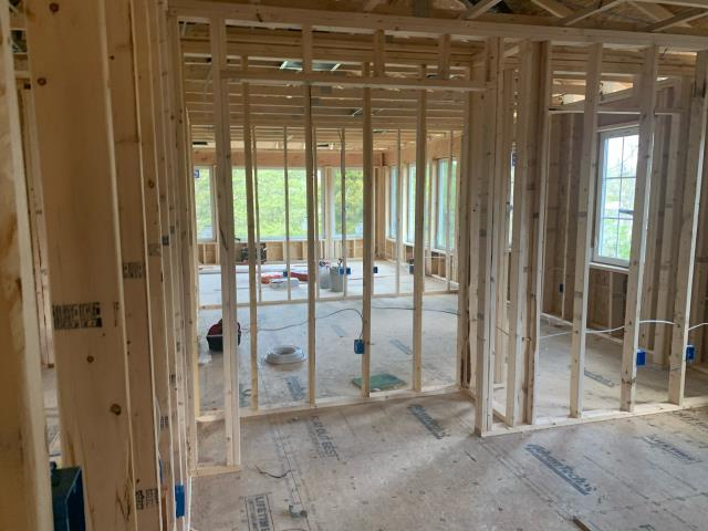 Edgewater, MD - Interior Framing of a Second Story Addition