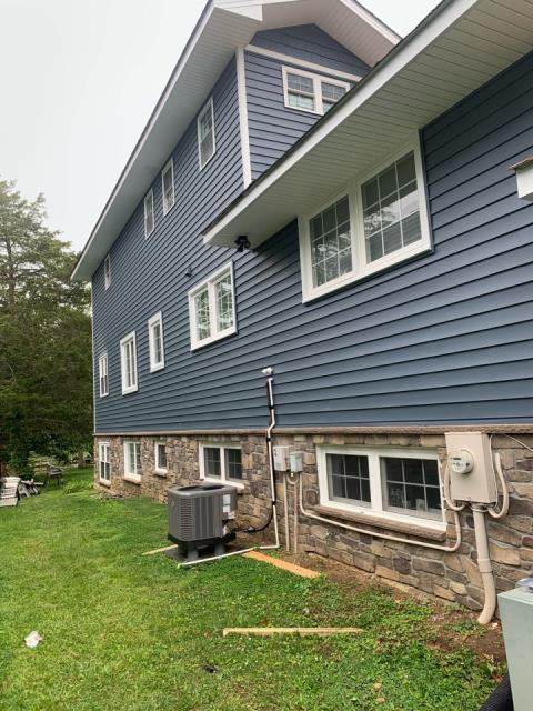 Edgewater, MD - Siding Phase Complete