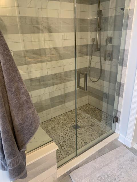 Edgewater, MD - Steam Shower - Remodeling Project of the Second Floor of a Home