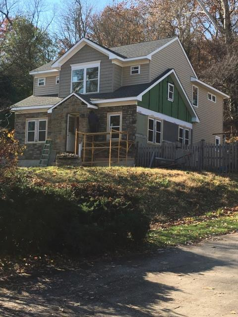 Elkridge, MD - Whole House Renovation, including Second-Story Addition on this wonderful family home in Elkridge...started October 2017, completed January 2018 (photo of construction-in-progress)