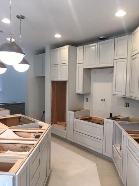 Pikesville, MD - At Work on a Kitchen Remodel
