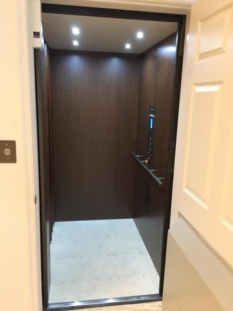 Pikesville, MD - Elevator installed in a Whole Home Renovation