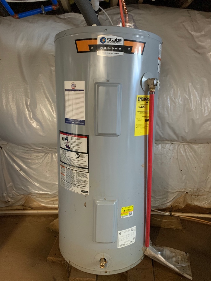 Repaired water heater and replaced sump in Culpeper
