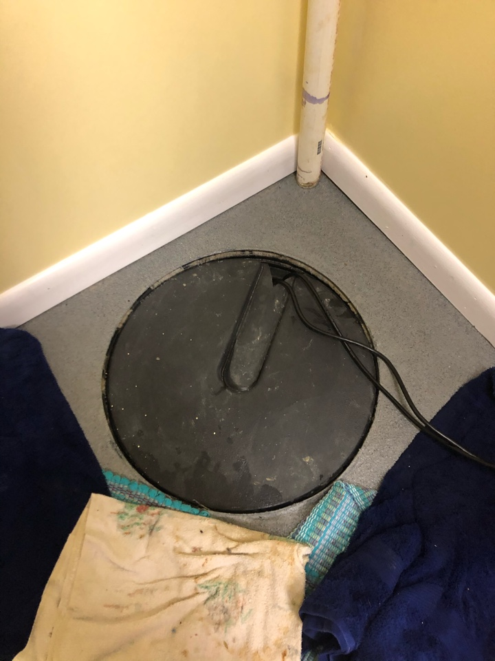 Replaced sump pump in Bumpass VA