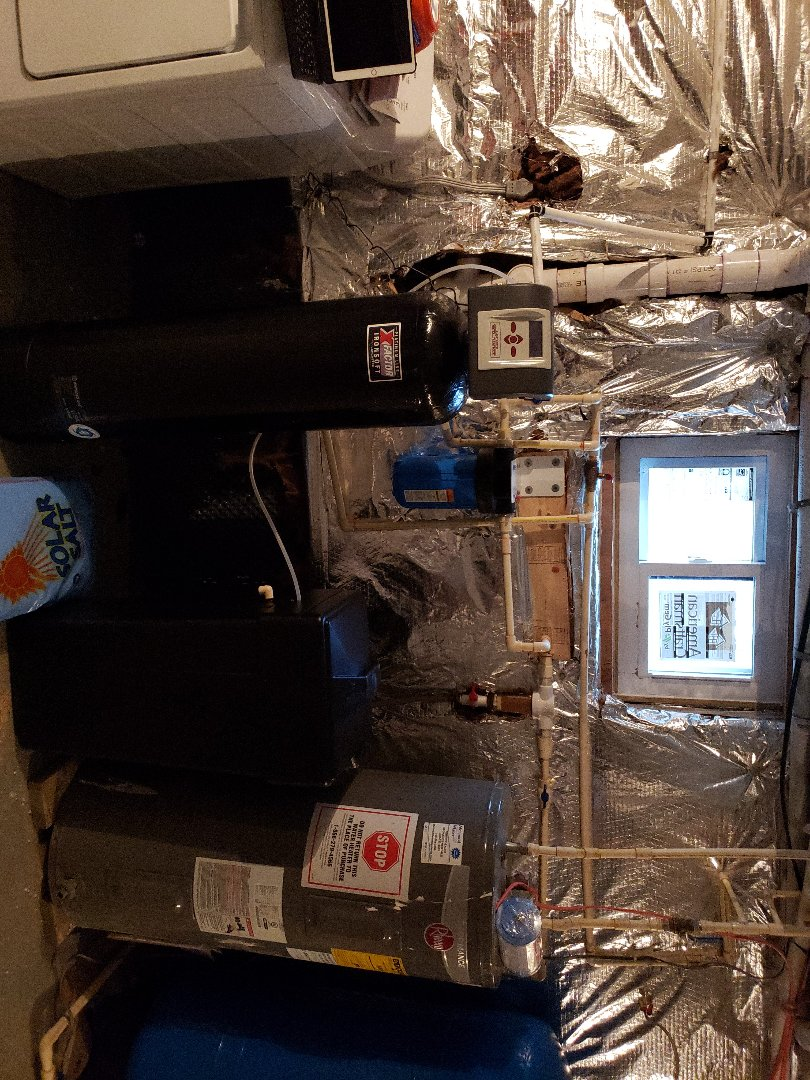 Warrenton, VA - Inatalled new iron soft water softner
