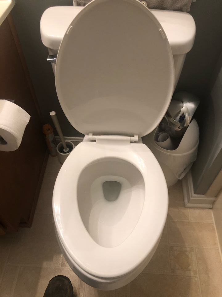 Stafford, VA - Cleared toilet in Stafford