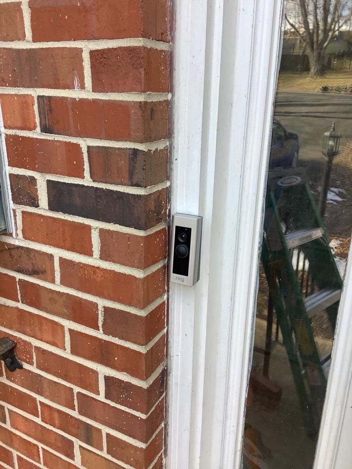 Stafford, VA - Installed ring doorbell