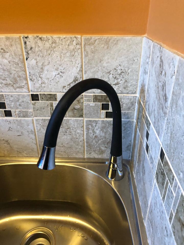 Warrenton, VA - Installed customer supplied faucet