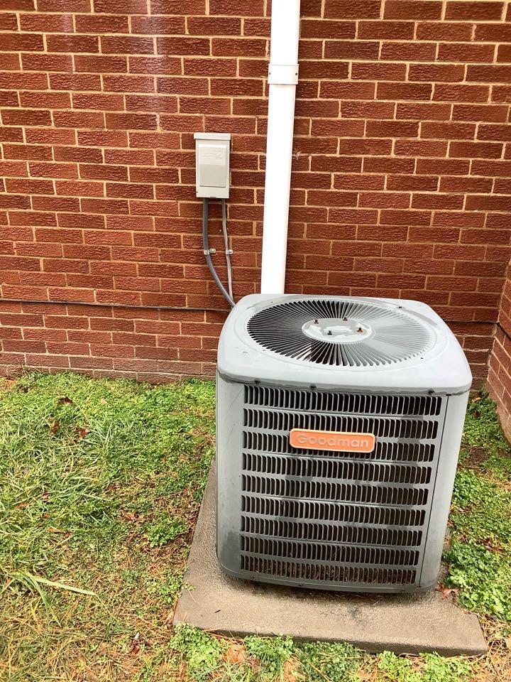Locust Grove, VA - Replacing heat pump