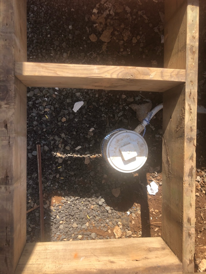 Repaired wiring on well head in Remington
