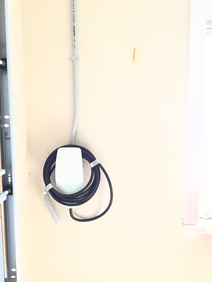 Stafford, VA - Wired and install tesla wall charger