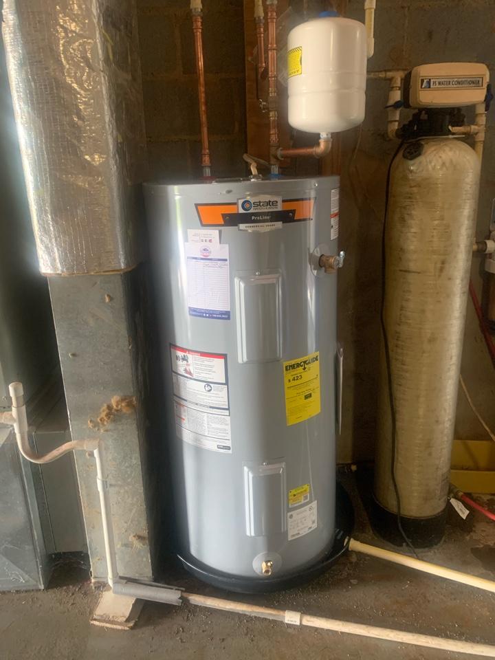 Warrenton, VA - Installed water heater in Warrenton VA