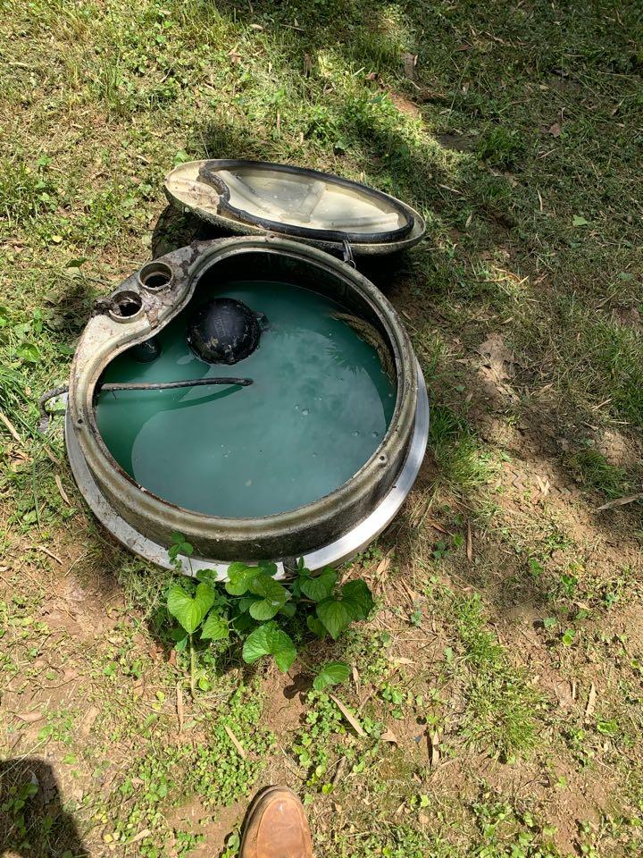 Stanardsville, VA - Grinder pump and sewer inspection