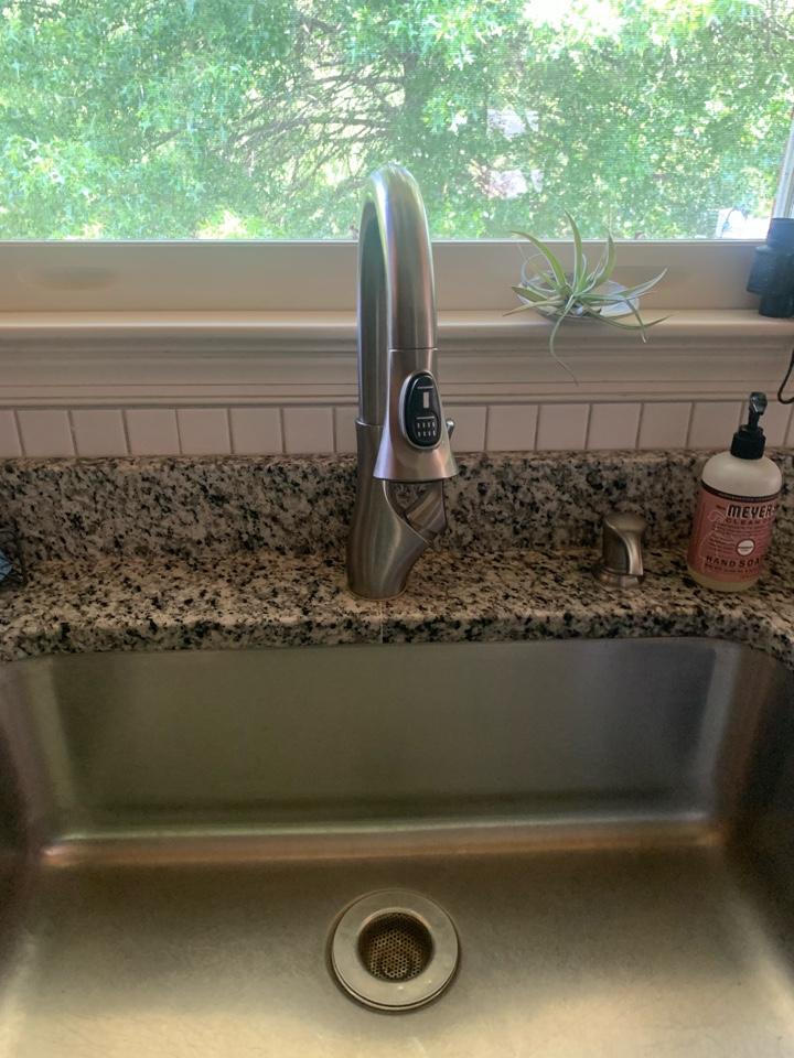 Madison, VA - Installed customer supplied faucet