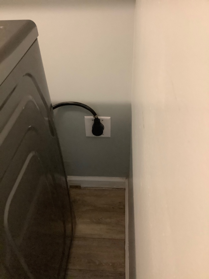 Locust Grove, VA - Installed 4 prong dryer outlet