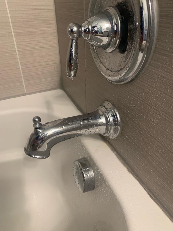 Charlottesville, VA - Repaired tub spout in Charlottesville