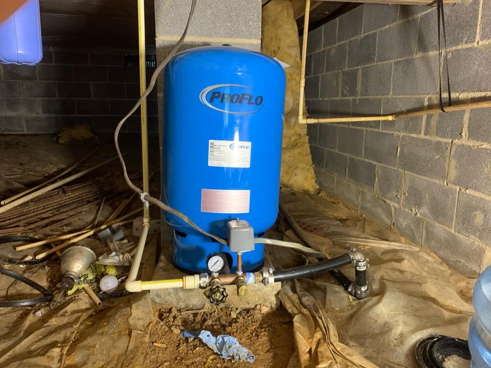 Locust Grove, VA - Pressure tank and well replacement