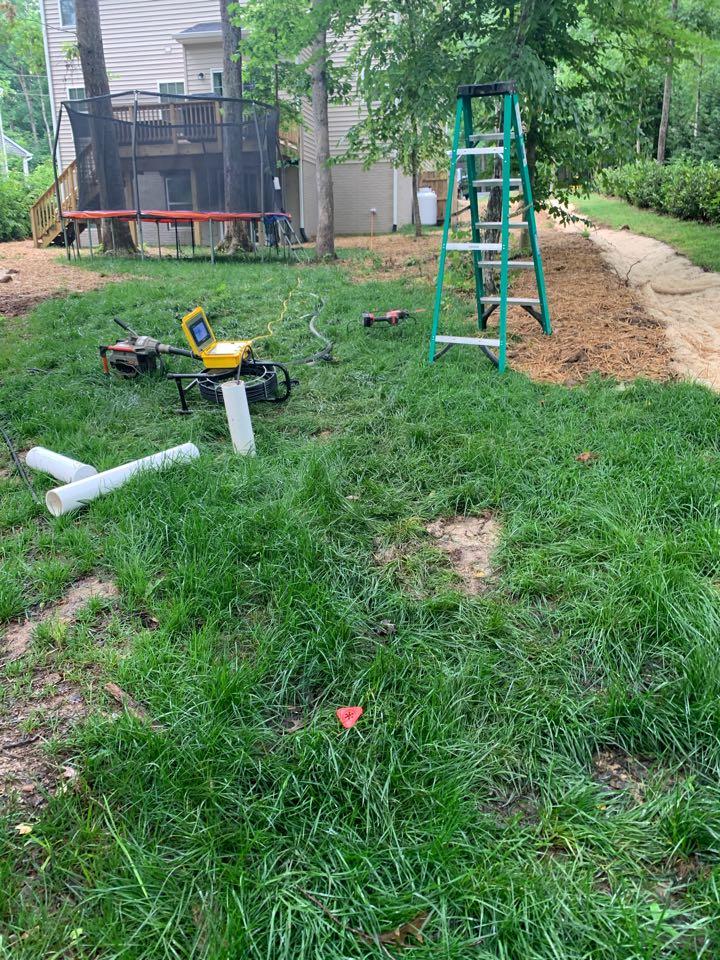 Locust Grove, VA - Snaking sewer main