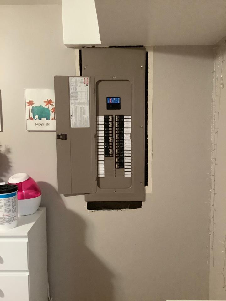 Stafford, VA - Installed new 200 amp panel