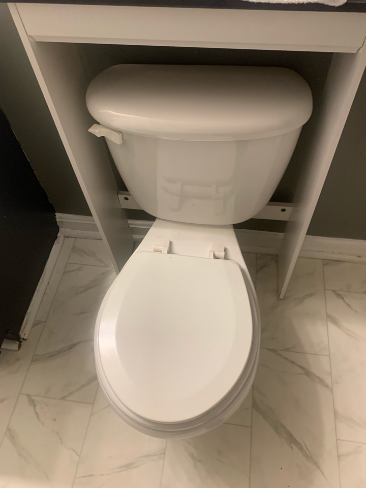 Stafford, VA - Cleared toilet in Stafford