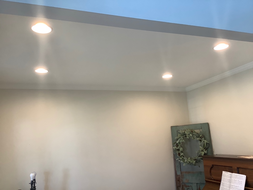 Stafford, VA - Wired and installed recess lights