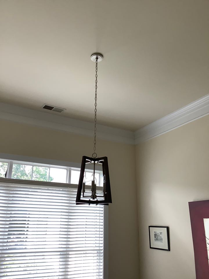 Charlottesville, VA - Installed ceiling fans and lights