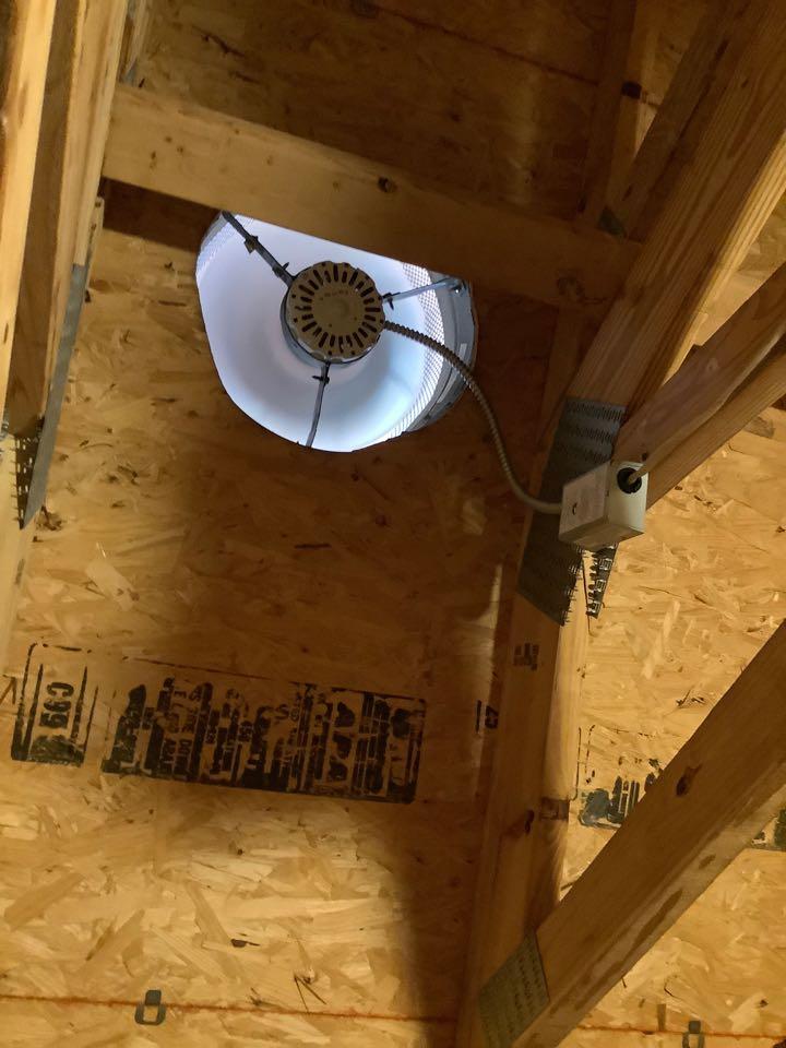 Install new attic fans
