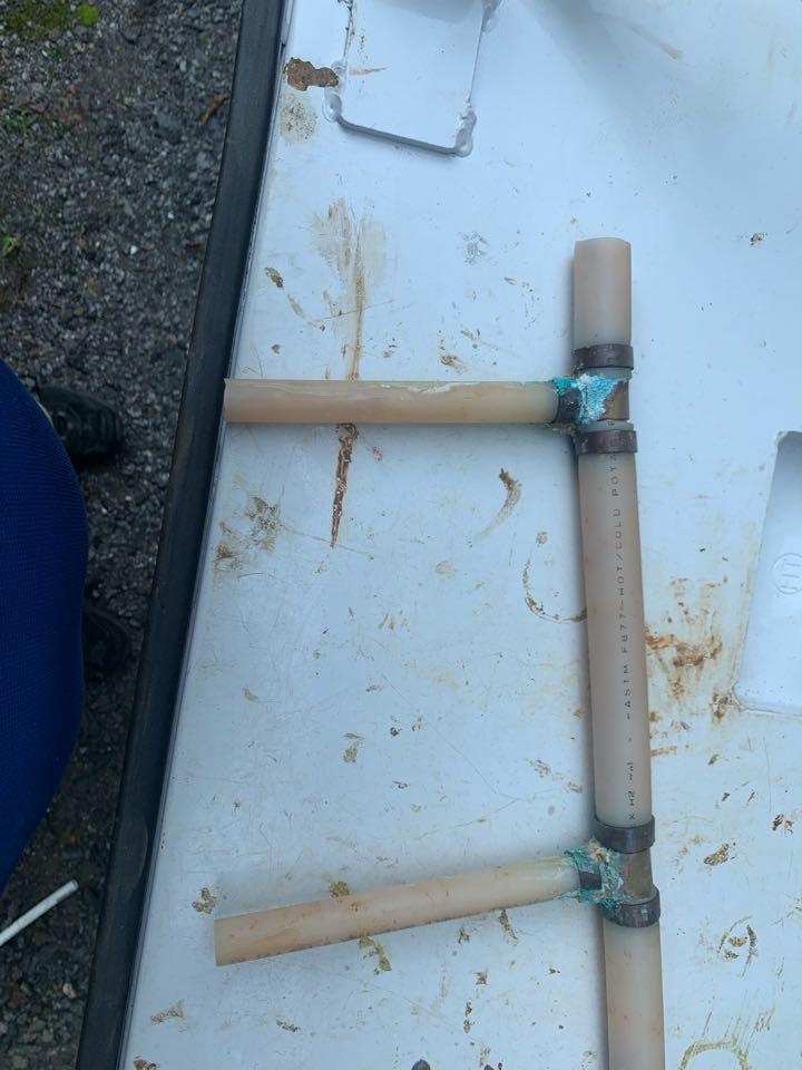 Water line repair in Madison