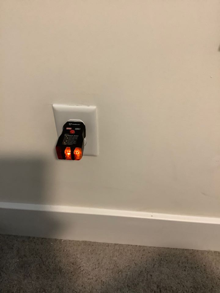 Repaired outlets not working