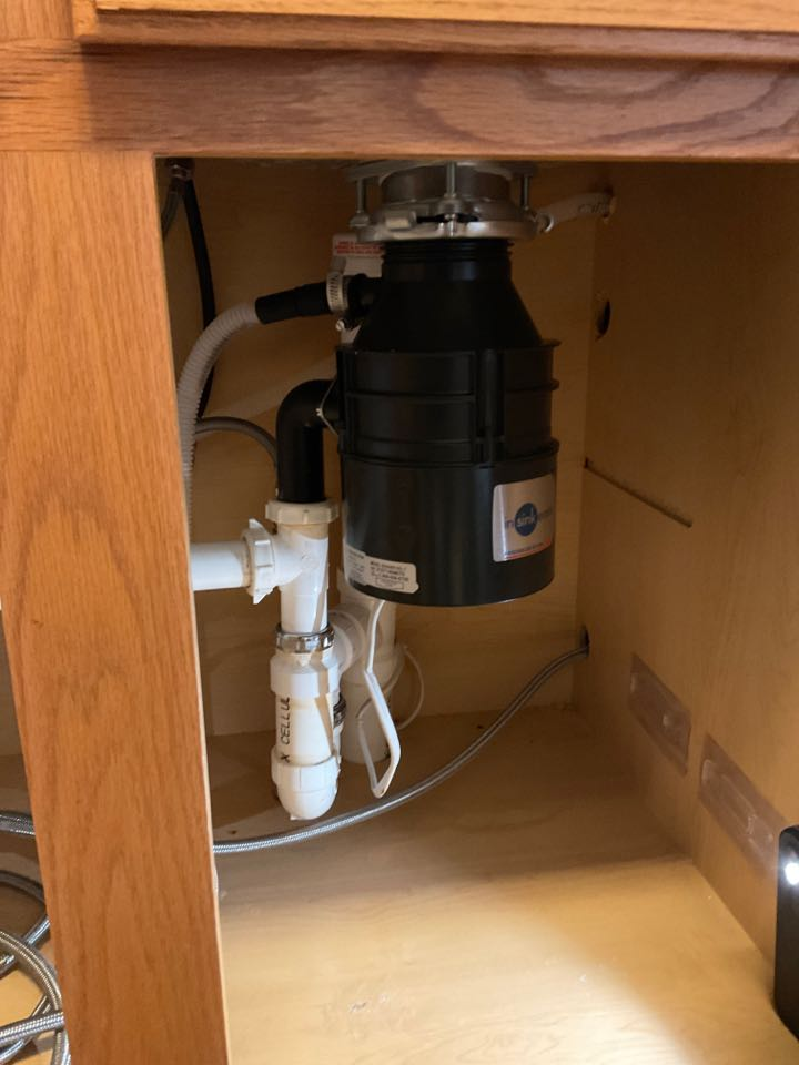Installing a new garbage disposal in Culpeper