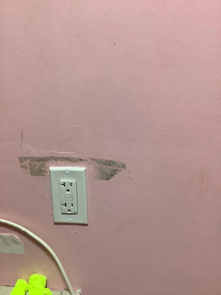 Fredericksburg, VA - Installed new gfci outlet